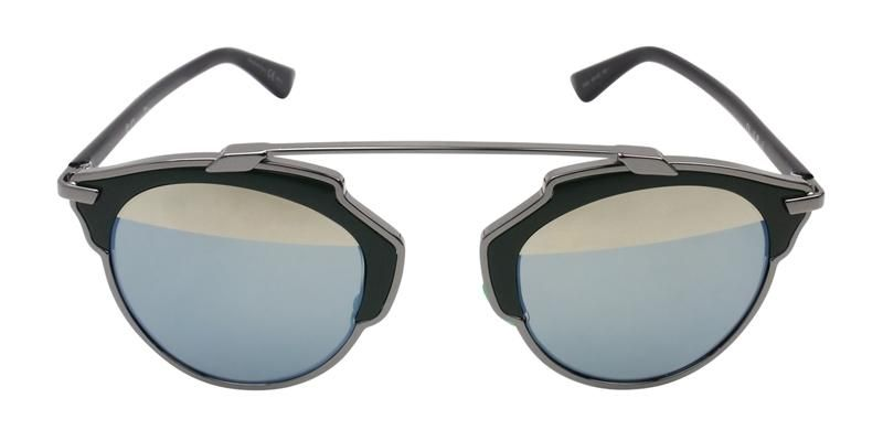 9cb0ef896c0 Dior Unisex So Real Silver Black   Green Mirror Lens Sunglasses –  shadesdaddy