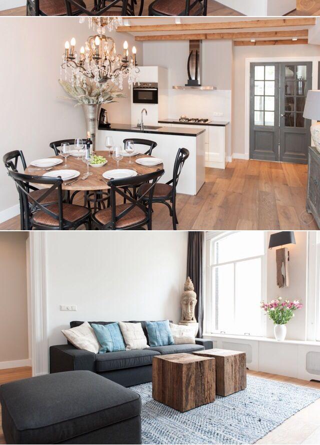 Eetkamer - Ideeën voor het huis | Pinterest - Eetkamer, Voor het ...