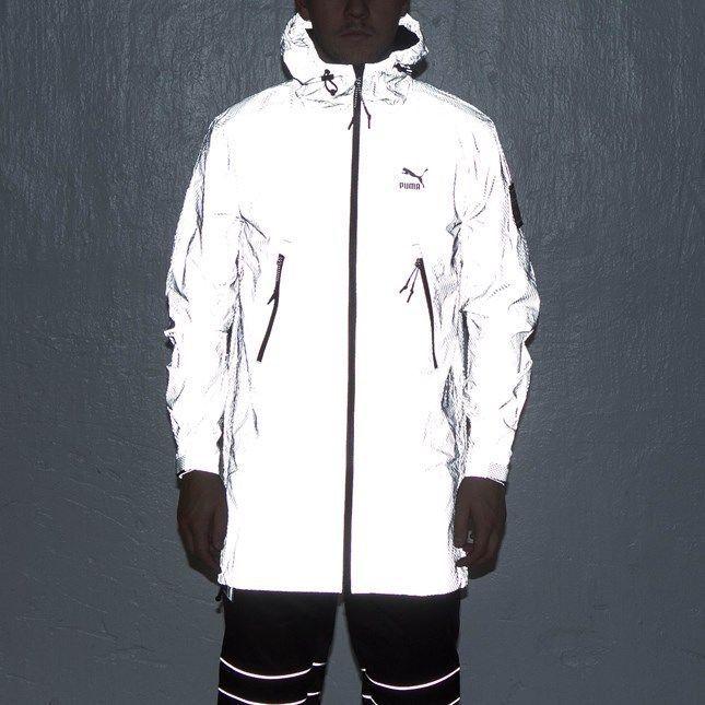 4fda45709 Puma ICNY Windbreaker Flash Jacket 3M Reflective Men's XXL New With ...