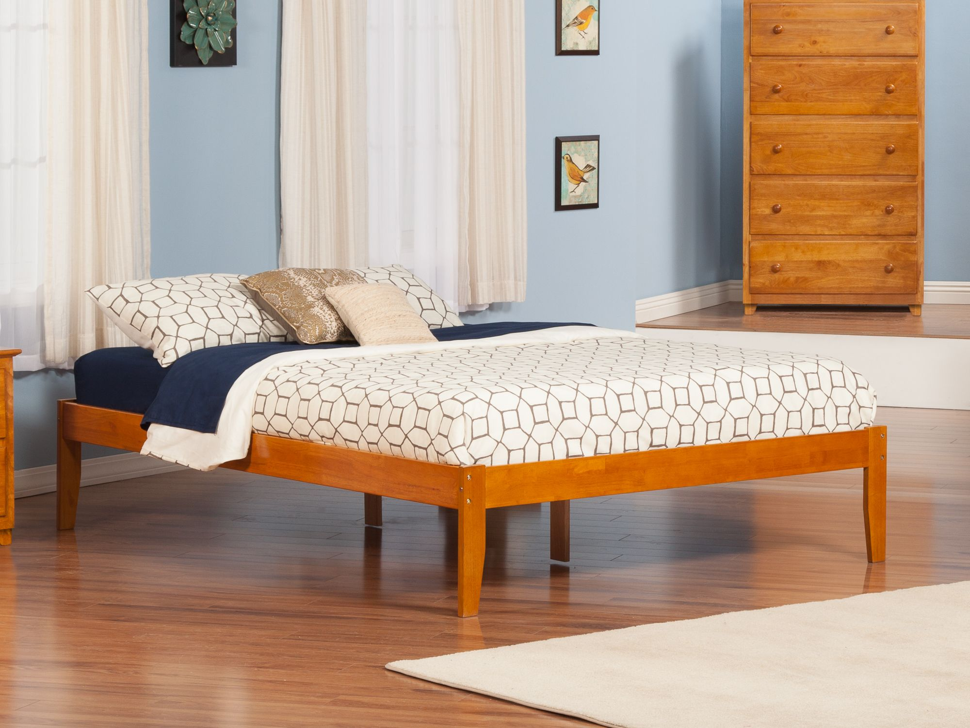 Concord Platform Bed Atlantic Furniture Platform bed
