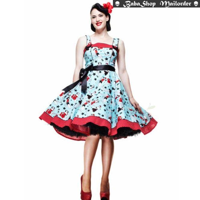 Dixie - Dress - Fiftys - Hellbunny   Babashop.nl - MEDIUM