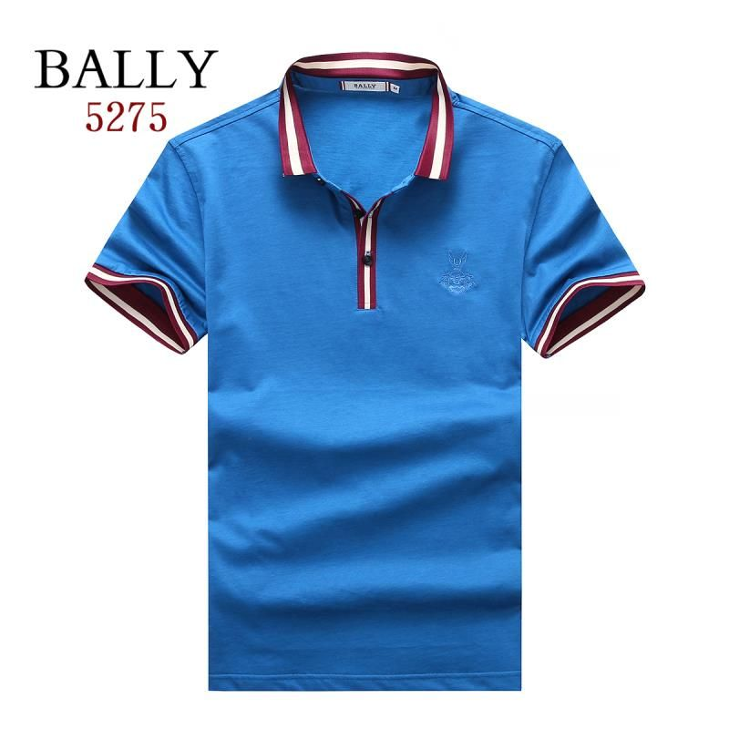Bally polos t-shirts, short sleeve 100% cotton tops, brand shop #
