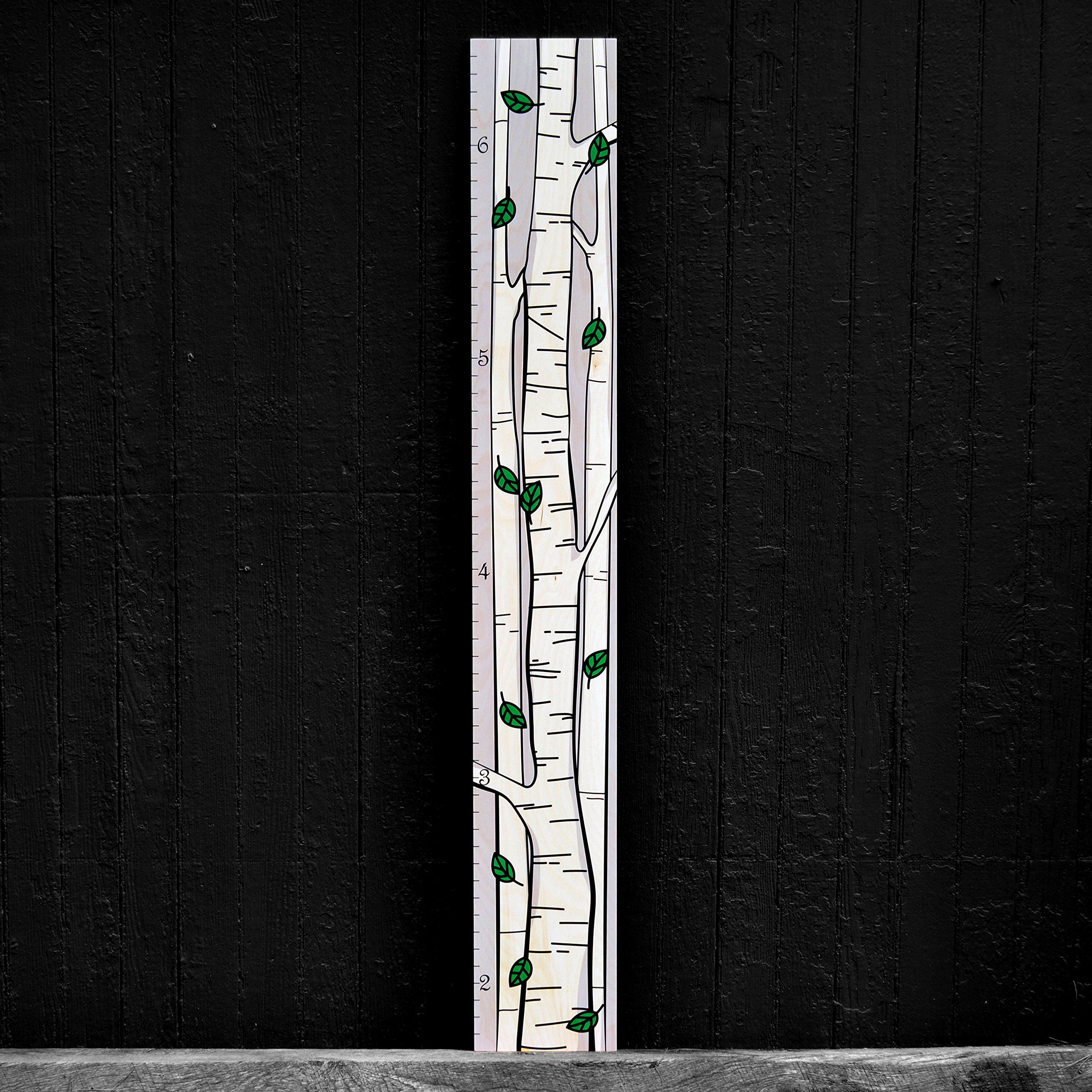 Birch Tree Ruler Growth Chart