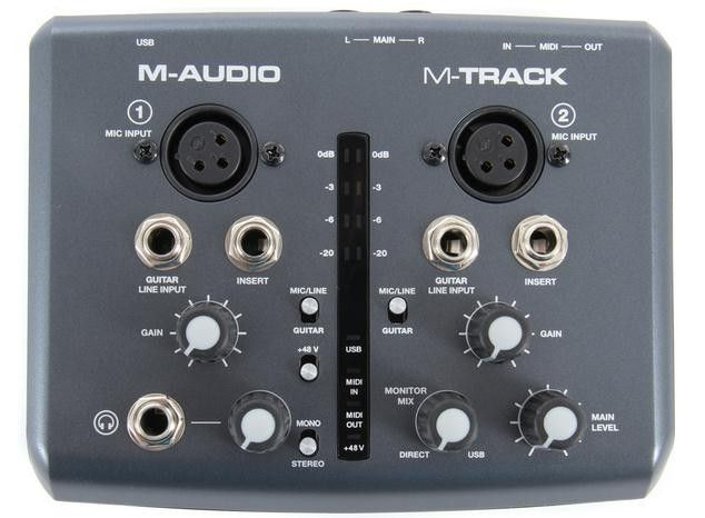 buy m audio m track two channel portable usb audio midi interface at lowest price free. Black Bedroom Furniture Sets. Home Design Ideas