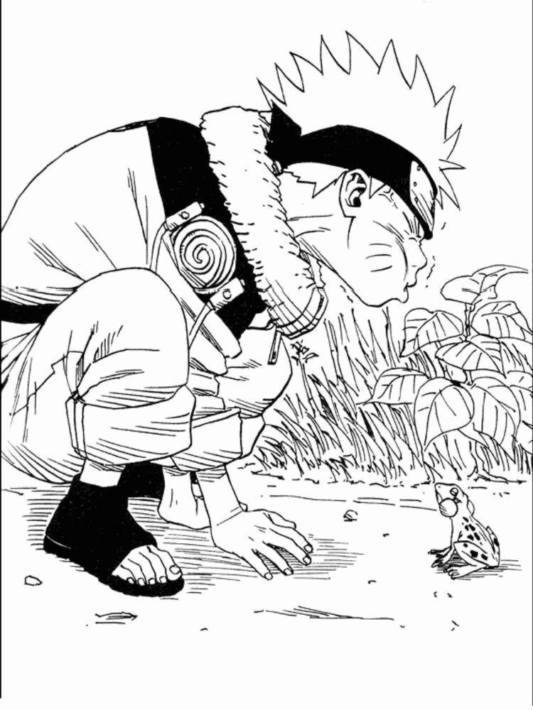 Naruto Shippuden imagens) Pintar e colorir, Páginas