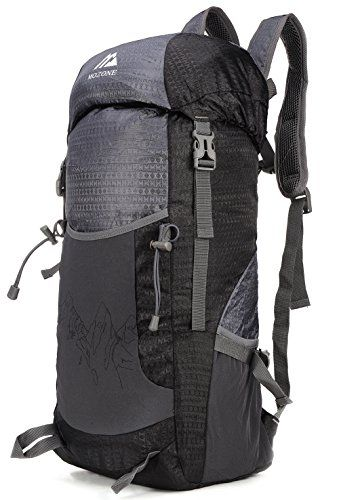 31e85cfdadca Mozone Large 40l Lightweight Travel Water Resistant Backpack ...