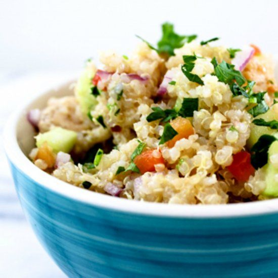 This Easy Protein Packed Chicken Quinoa Is Perfect For A
