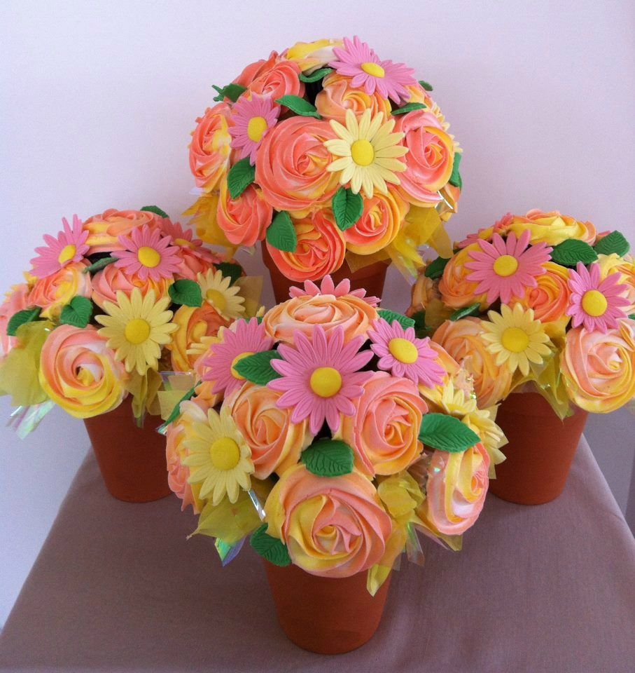 Forget Flowers Say It With Cupcakes Cupcakes Pinterest