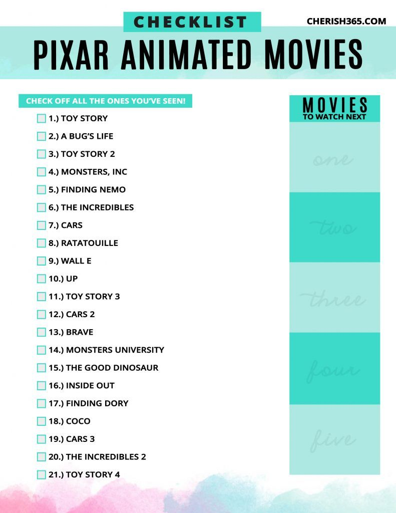 Every Pixar Movie Coming To Disney Plus And What S Missing