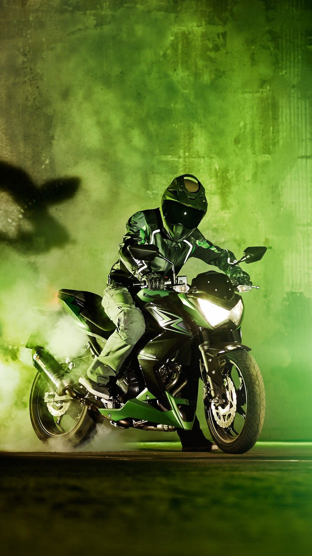 Kawasaki Z300 2018 4k In 1080x1920 Resolution Motorcycle Wallpaper Kawasaki Bike Photoshoot