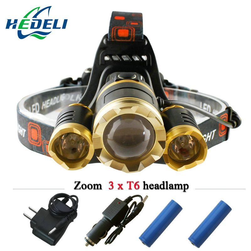 Led Headlight 10000 Lumens Rechargeable Headlamp Headlamp Led Headlamp