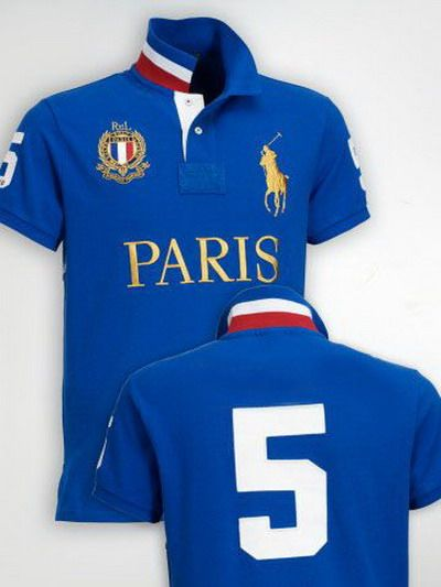 Ralph Lauren Paris NO.5 Polo Shirt Blue http://www.hxzyedu.cn/?blog=ralph+lauren+polo+outlet