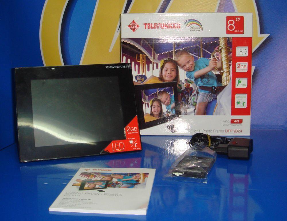 marco digital TELEFUNKEN 8 pulgadas led 2 gb nuevo sin uso | VENTAS ...