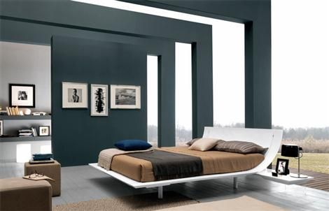 Another Modern Bed From Usona #furniture #bed