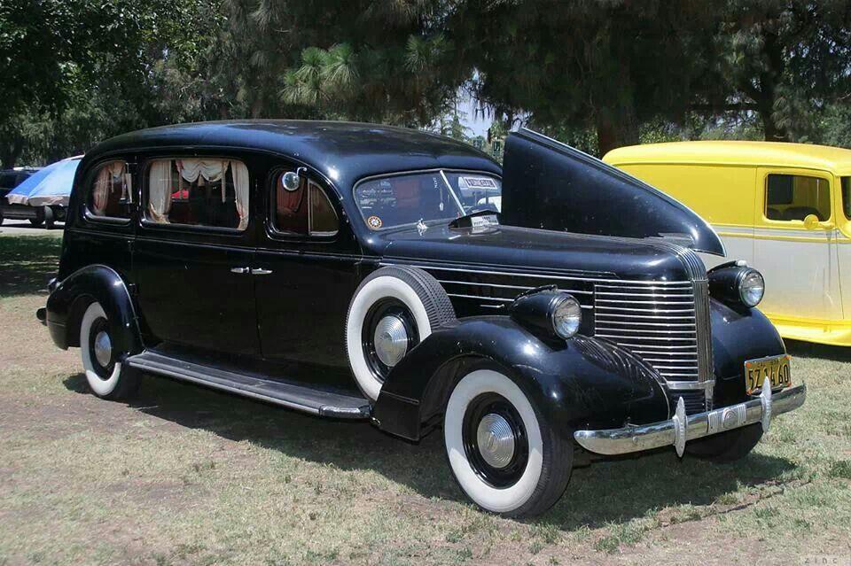 38 Pontiac Hearse Antique Funeral Cars Pontiac Cars Antique