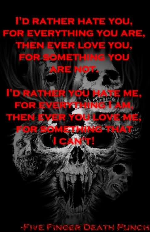 five finger death punch quotes
