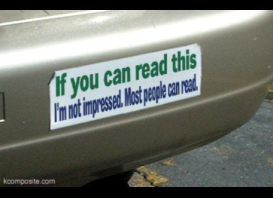 10 classic bumper sticker parodies pictures