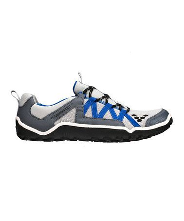 Take a look at this Gray & Royal Blue All-Terrain Shoe - Men by Vivobarefoot on #zulily today!
