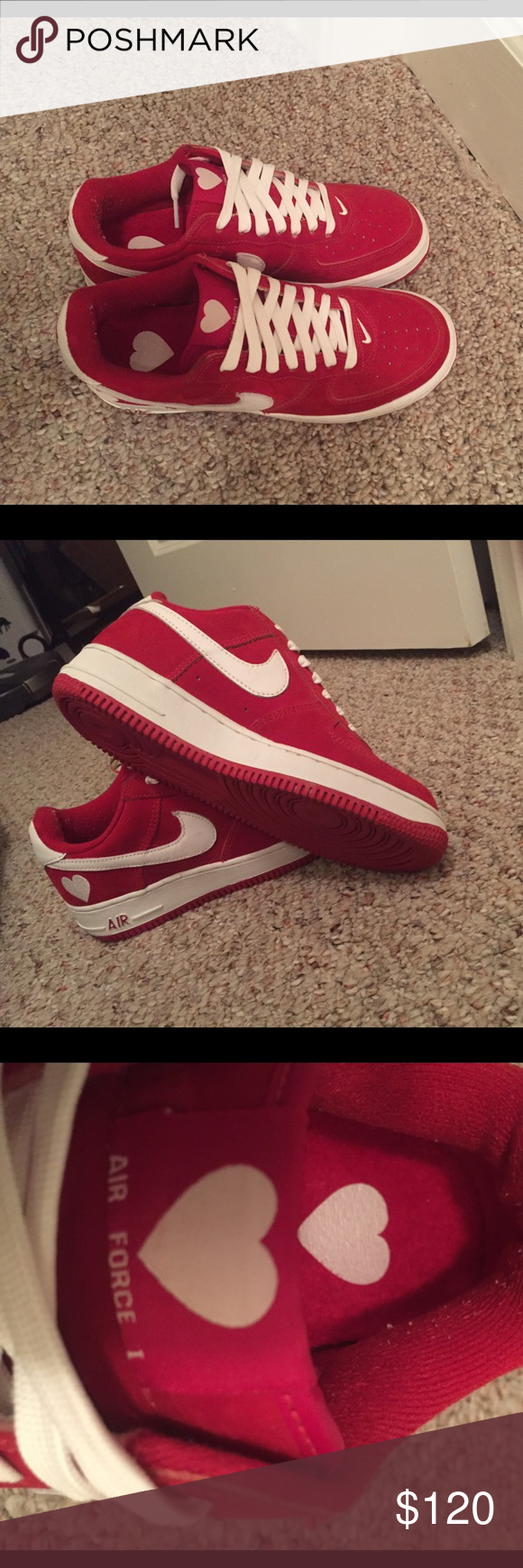 Nike Air Force 1 Valentines Day Sneakersneverworn Nike Air Force 1 Air Force One