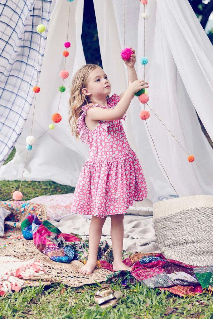 Nellystella Ariel Dress in Neon Star   Moda niños, Creatividad y ...