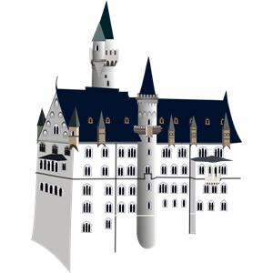 Free Svg Svg316 Neuschwanstein Castle Castle Clipart Castle