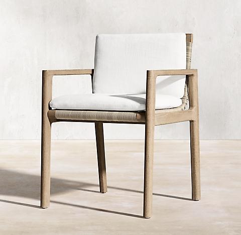 Mesa Teak Furniture Collection Weathered Teak Rh Teak Armchair Teak Furniture Oak Dining Chairs