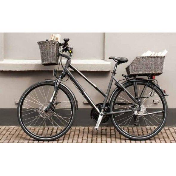 Hybrid Bike Front And Back Basket Google Search Bike Ideas