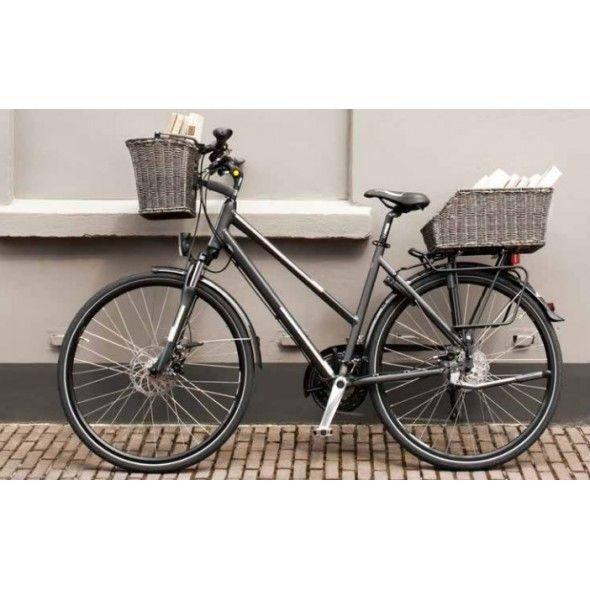 Hybrid Bike Front And Back Basket Google Search Bike Basket