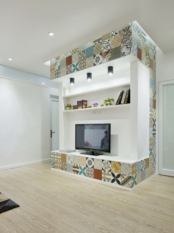 Ceramic Tiles Used for Artistic Interior Space - HT Apartment in ...