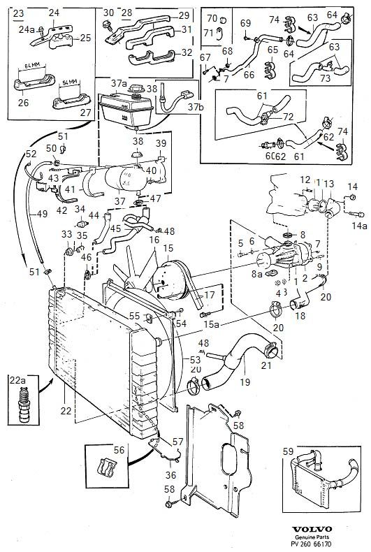 volvo 940 cooling fan wiring diagram cooling system 4cyl fits 1993 volvo 940 volvo parts warehouse  cooling system 4cyl fits 1993 volvo