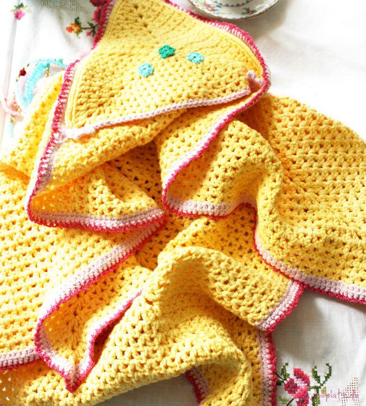 Babydecke häkeln | Pinterest | Babydecke häkeln, Babydecken und Häkeln