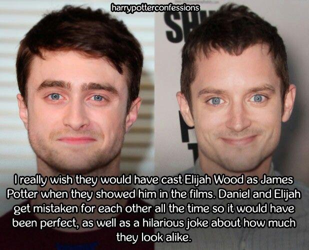 Although Daniel Has Gotten Quite Attractive As He Got Older Elijah Is Way Hotter Hands Down Harry Potter Funny Harry Potter Universal Harry Potter World