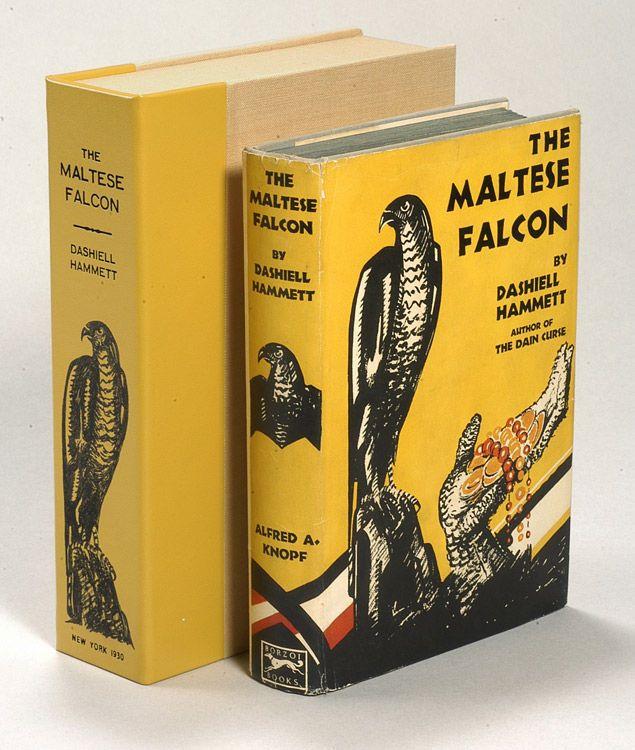 'The Maltese Falcon' written by Dashiell Hammett