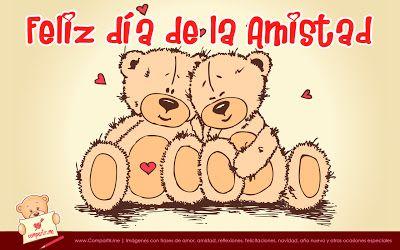 Diseno De Tiernos Ositos Por El Dia De La Amistad 14 De Febrero Feliz Dia De La Amistad Imagenes De Feliz Dia Frases Del Dia De San Valentin