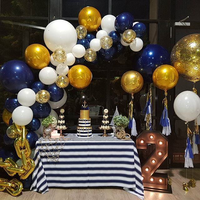 A nautical theme birthday!!!! Love this for  @melindaredzepi_official  Tap for credits