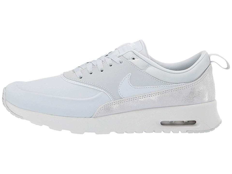 649a1c477075 Nike Air Max Thea Premium Women s Shoes Pure Platinum Pure Platinum Summit  White