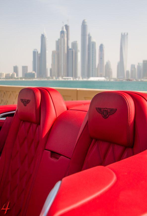 Xvivienne A Red Bentley Convertible On Manhattan Vehicles