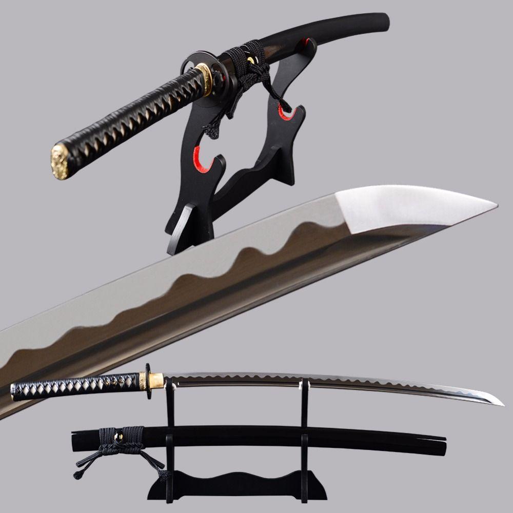 Shijian Swords Full Tang Katana High Carbon Steel Samurai