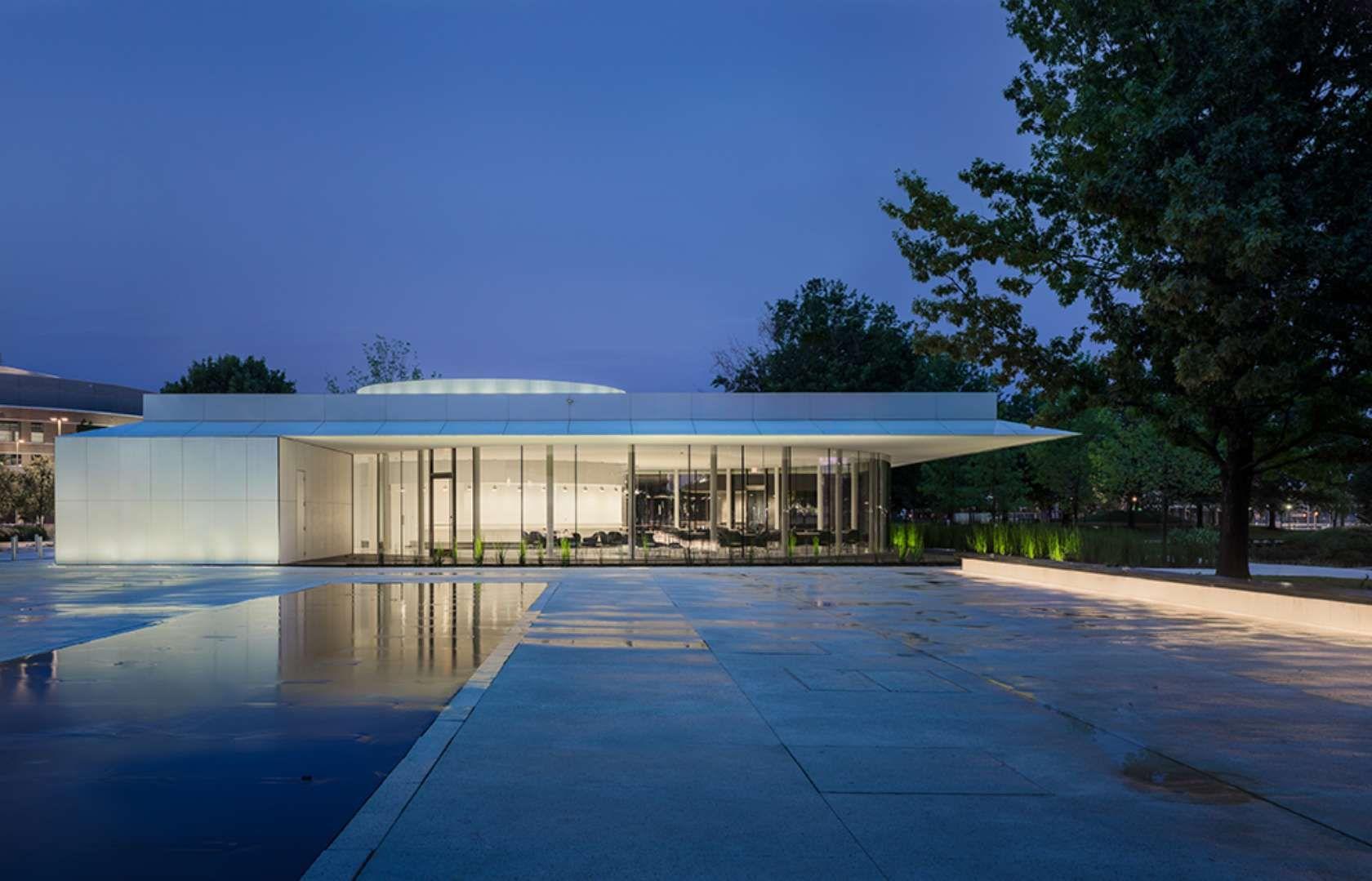 The design team, transformed Oklahoma City's Myriad