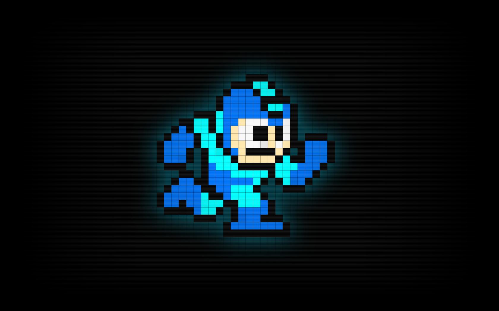 Pixel Art Video Games Mega Man Wallpaper Wallpaper Man Wallpaper Art