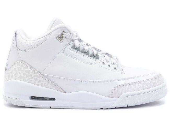 46eeb0561ec93e Air Jordan 3 Retro pure money white silver
