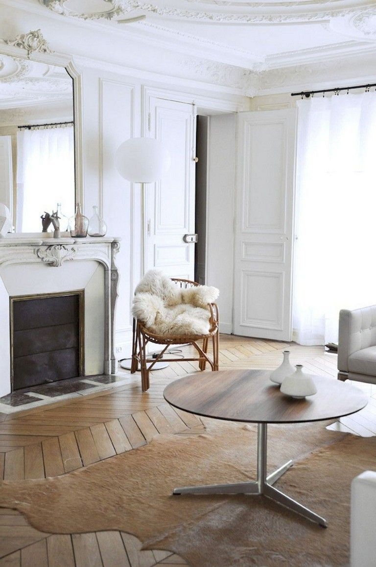 59 Parisian Living Rooms to Make You Swoon | Paris living ...