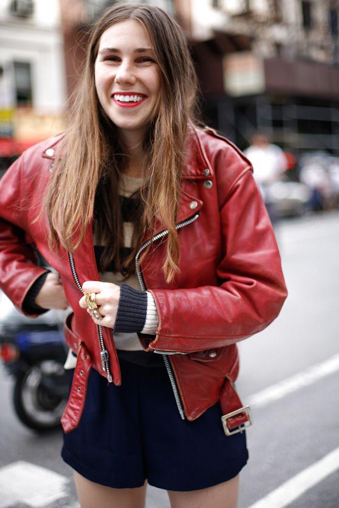 Street Style: Zosia Mamet, actress of Girls, HBO series ...