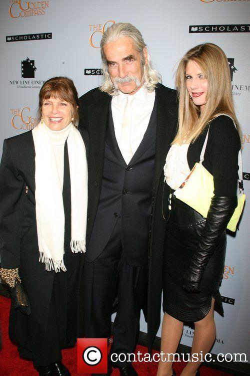 Katharine Ross, Sam Elliott and Cleo Rose Elliott...
