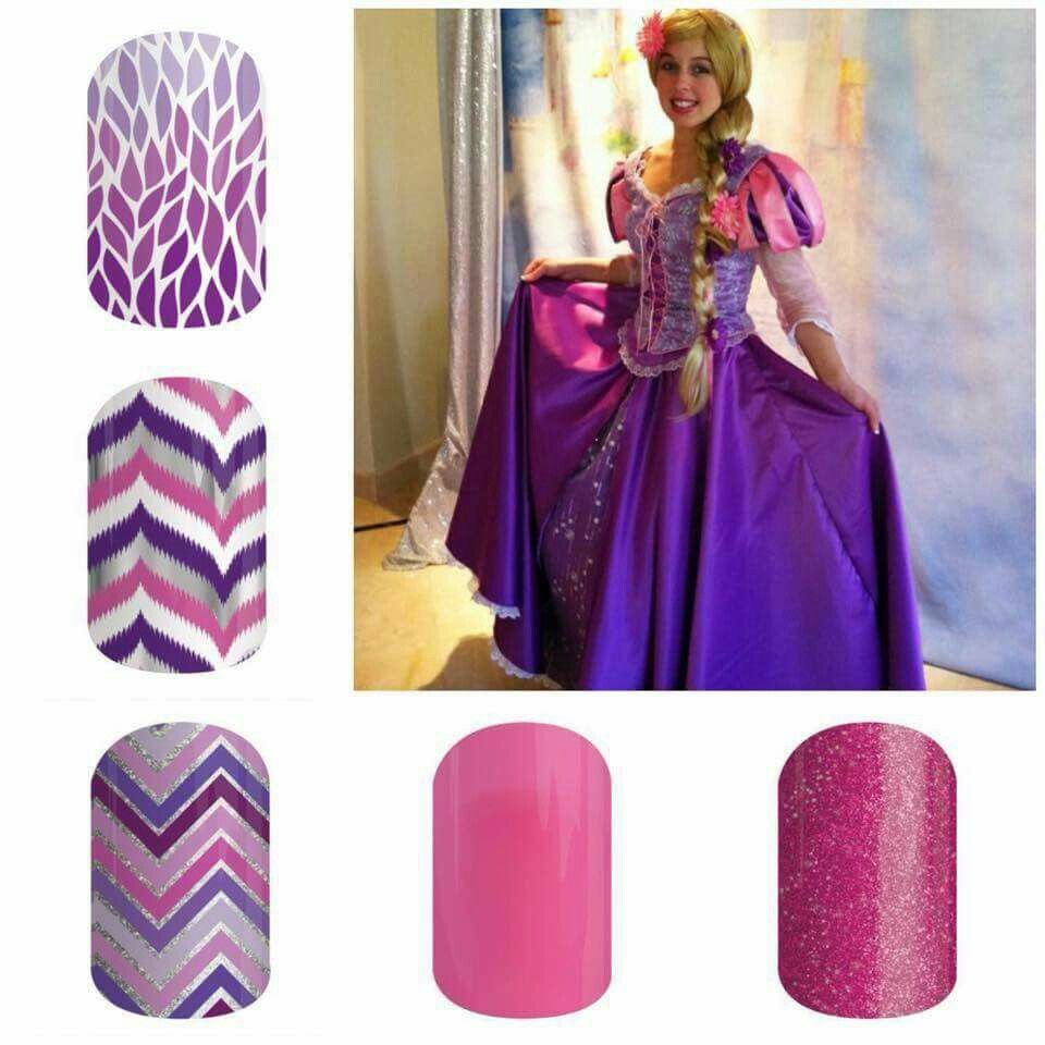 Halloween costume nail wraps! Great for kids because it's non ...