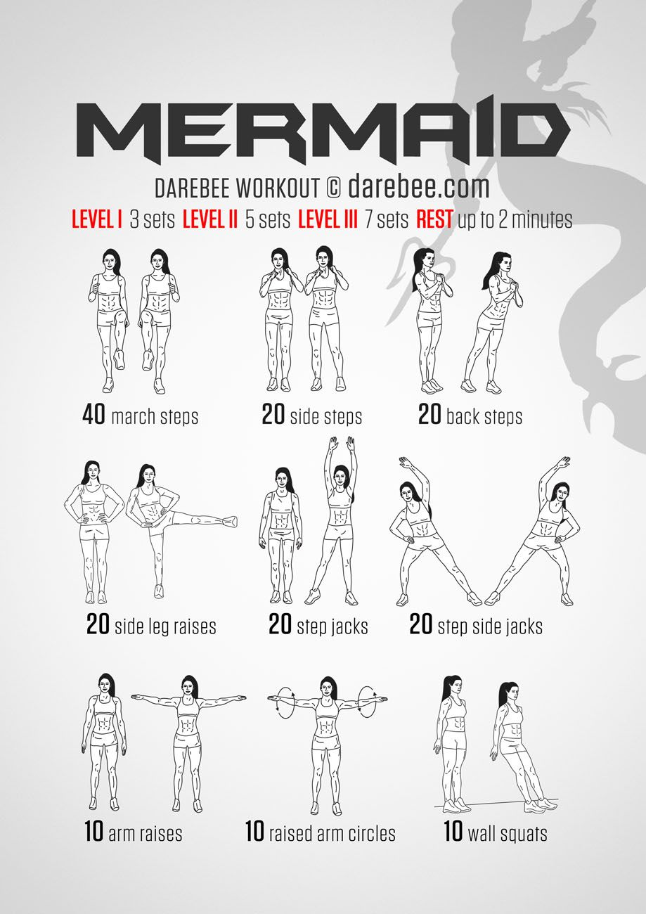 Mermaid Workout Or Oh Look A I Can Actually Do