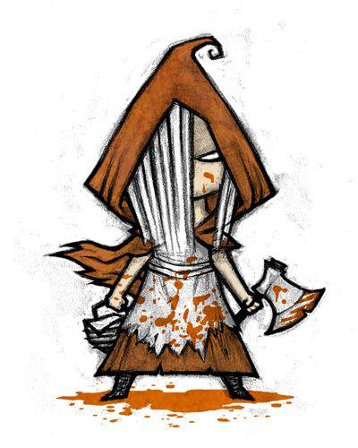 Little Red Riding Hood by Ken Wong