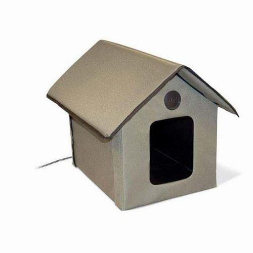 outdoor heated kitty house 22 x 18 x 17 pets pinterest
