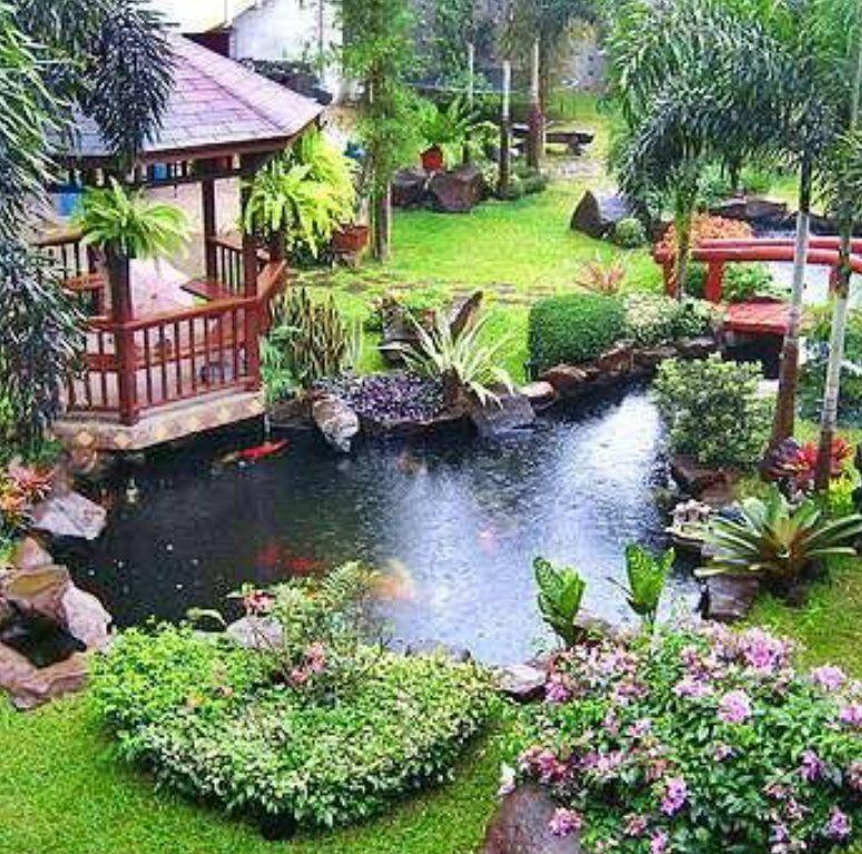 Pin de jaime en estanque de agua pinterest paisajismo for Estanques japoneses jardin