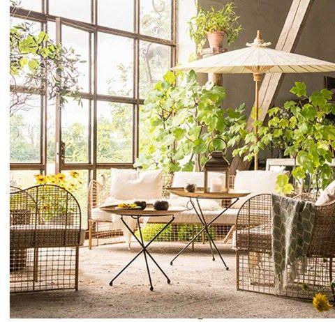 Rattansessel Design Sessel Rattan Lily Garten Mobel Plants